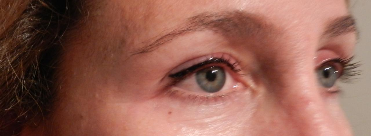 Eye liner haut